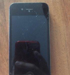 iPhone 4 с чехлом не работает идёт на разборку