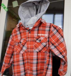 Рубашка толстовка 86-92
