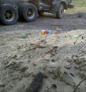 Доставка песка, гпс и др. сыпучих грузов