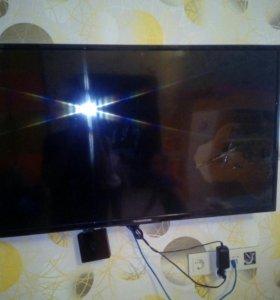 Телевизор thomson t43d16sf-01b на запчасти