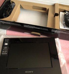 Новая цифровая фоторамка Sony