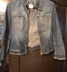 Джинсовая куртка Dolce Gabbana Ittierre italy
