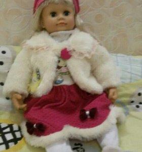 Большая говорящая кукла Настя