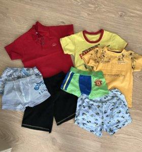Вещи для мальчика 3-4 года