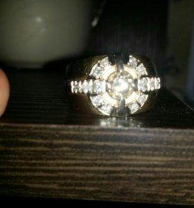 Печатка мужская с бриллиантами