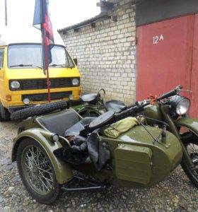 Военный мотоцикл м-61