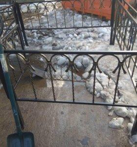 Сварные и кованые ограды