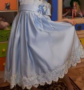 Платье праздничное для девочки, рост 116-128