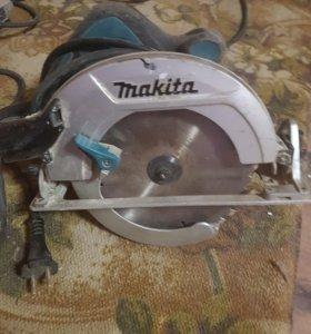 циркулярная пила makita hs7601