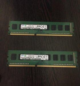 Оперативная память DDR3, 1600гц