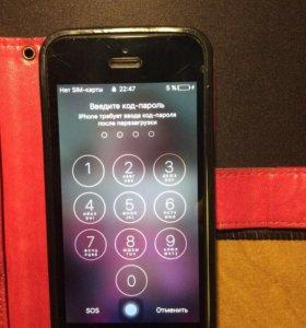 iPhone 5с, ios10