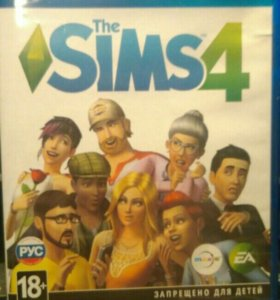 Диск для PS4 The Sims 4
