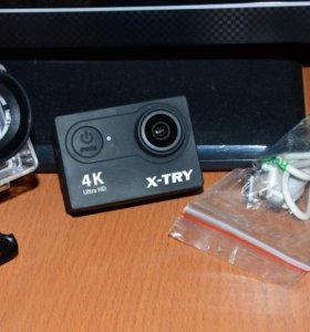Экшн Камера X-TRY XTC160 UHD Black