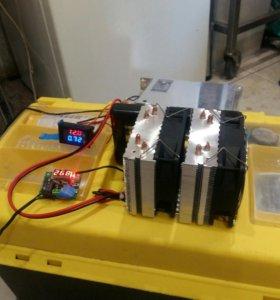 Инкубатор тепло-контроллер авто включения