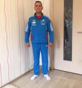 Костюмы Adidas новые летние Сборной РФ,все размеры