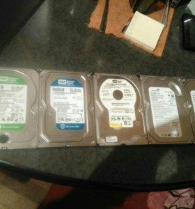 Жесткие диски sata от 160gb до 1500gb