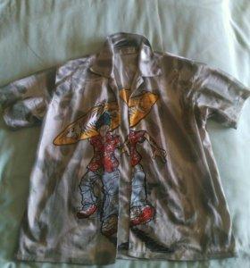 Рубашка подростковая бу