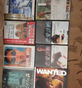 DVD диски на японском языке