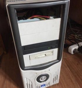 Системный блок, монитор, клавиатура, мышь