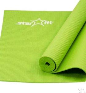 Коврик для йоги FM-101 PVC 173x61x0.4 см