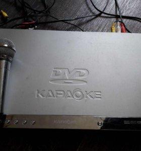 Продам DVD-плеер LG DKS-6100 + Караоке