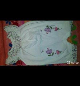 Платье-боди и песочник новые