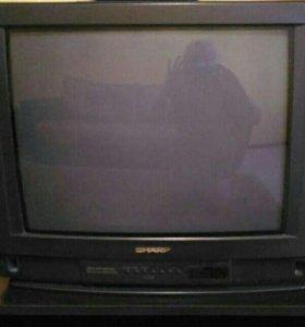 Телевизор диаг.50см/Обмен