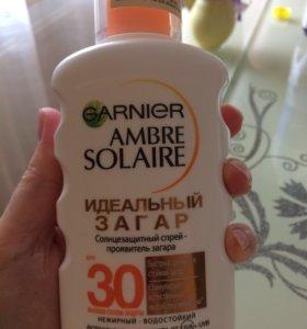 Солнцезащитный спрей