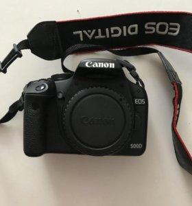 Фотоаппарат зеркальный Canon 500D