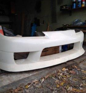Передний бампер обвес Nissan Silvia S15