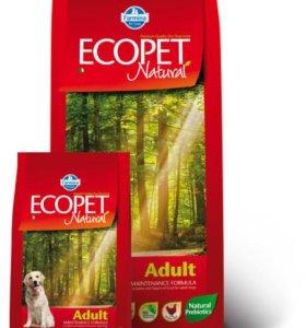 Ecopet Natural Adult корм для взрослых собак