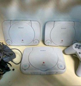 Playstation One + 15 дисков
