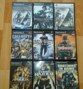 Диски playstation 2/PS2