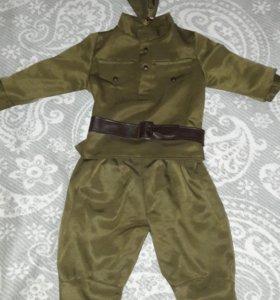 Костюм военного для мальчика