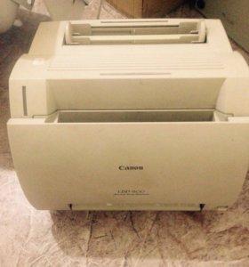 Принтер Canon + картриджи