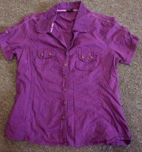 Новая Рубашка и топ вместе