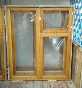 Рамы деревянные оконные.