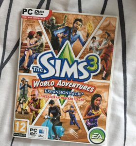 Sims 3 мир приключений