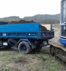 Услуги самосвала 3тонны доставка сыпучих грузов