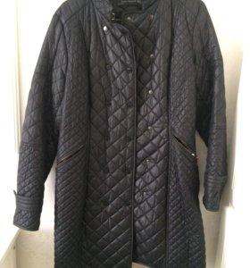 Zara стеганое пальто