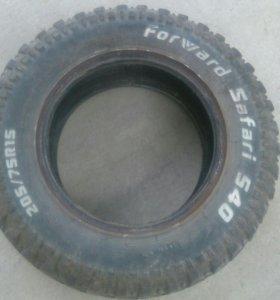 Резина форвард сафари 540 размер 205/75/15