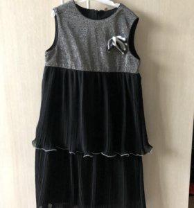 Нарядное платье для девочки рост 134