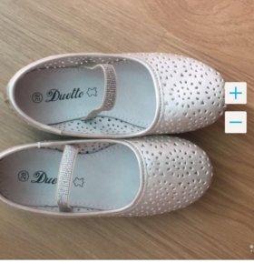 новые туфли 28 размер