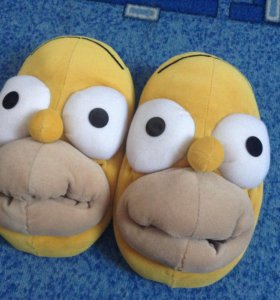 Тапочки по мультсериалу The Simpsons