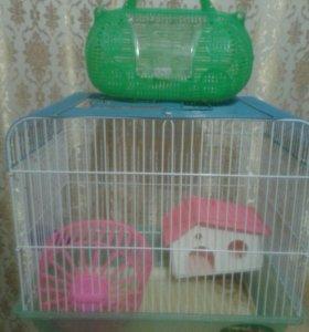 Клетка для грызунов с переноской