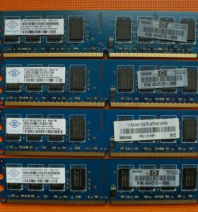 Оперативная память DDR2 2gb, Nanya