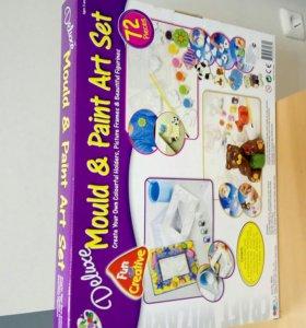 Детский набор для лепки и рисования.