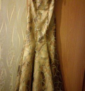 Платье выпускной, Москва, на корсете