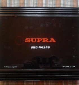 Усилитель SUPRA SBD - A4240