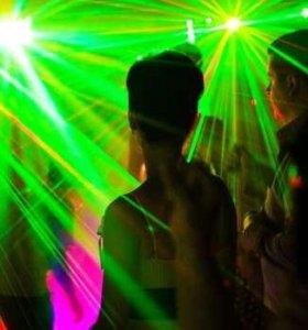 Световое и лазерное шоу на праздники